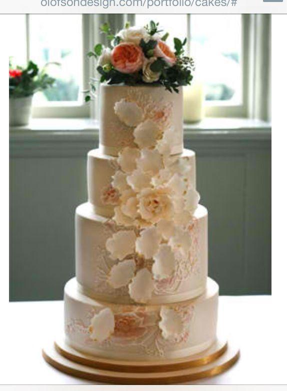 Olofson Design Wedding Cakes Based in East Dulwich, London, http://olofsondesign.com