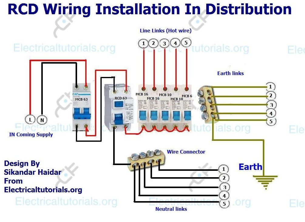 Astonishing Rcd Mcb Wiring Diagram Wiring Diagram Wiring Digital Resources Remcakbiperorg