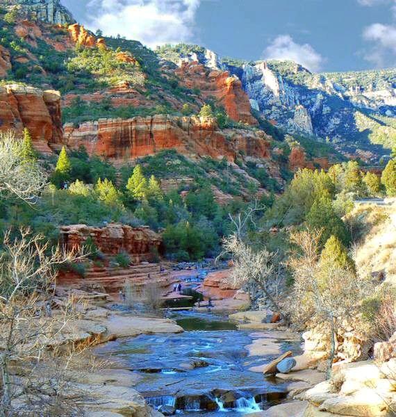 Oak+Creek+Canyon   Oak Creek Canyon Drive - Arizona ...
