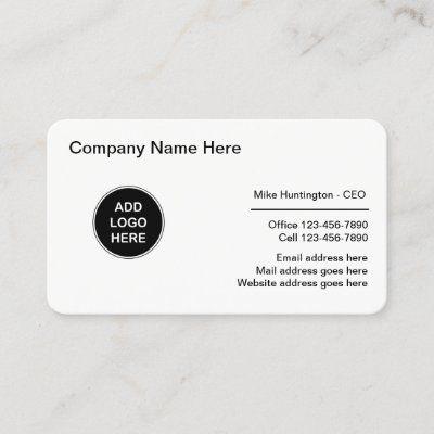 Corporate Professional Logo Design Business Card Zazzle Com Dental Business Cards Business Card Design Dental Business
