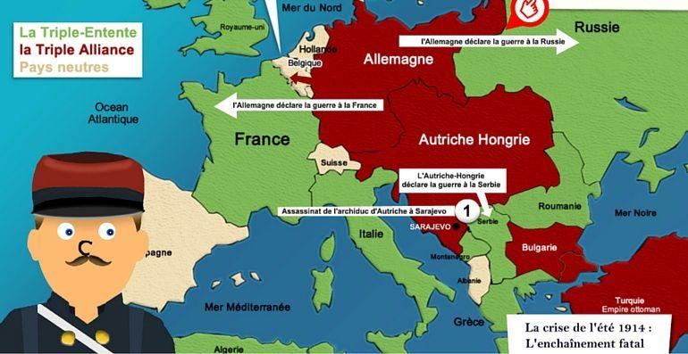 première guerre mondiale carte Découvrir la première guerre mondiale | Première guerre mondiale