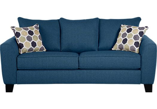 Cindy Crawford Sofa Quality How To Clean Sofas Bonita Springs Blue Sleeper | Home Is Where The Heart ...