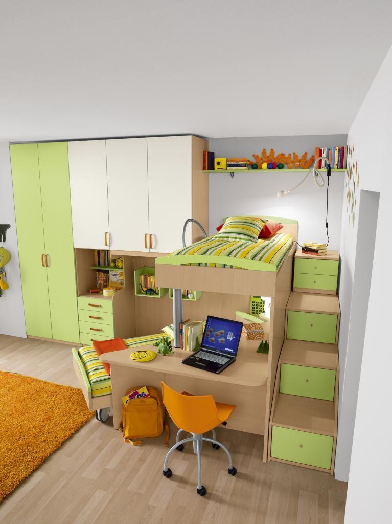 Camere a soppalco per ragazzi figli - Femmine da letto ...