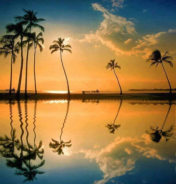 Lagoon, Honululu, Hawaii