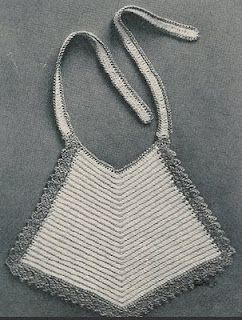 Easy Adorable Thread Baby Bib Crochet Pattern