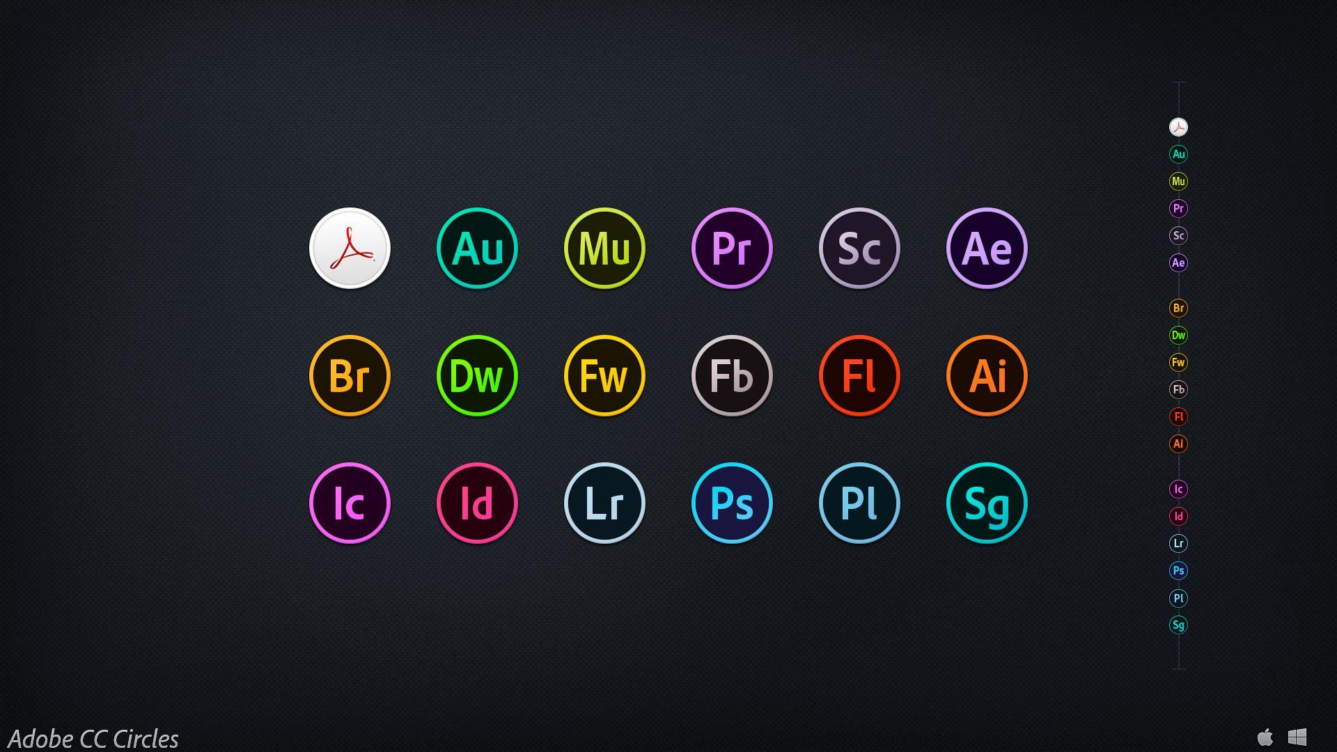 Adobe CC Circles by on