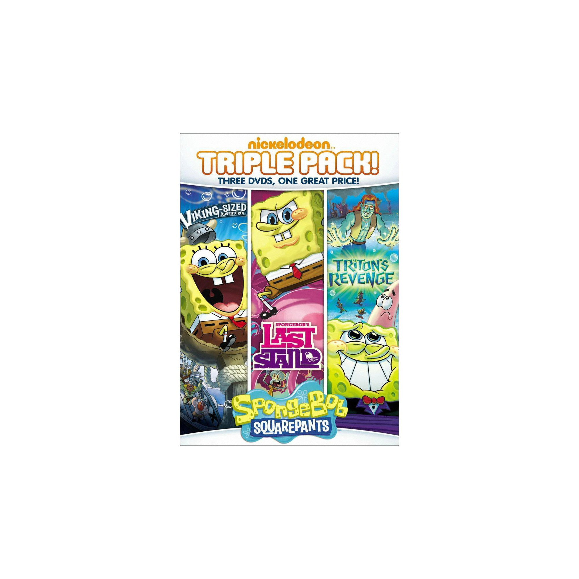SpongeBob SquarePants: SpongeBob\'s Last Stand/Triton\'s Revenge ...