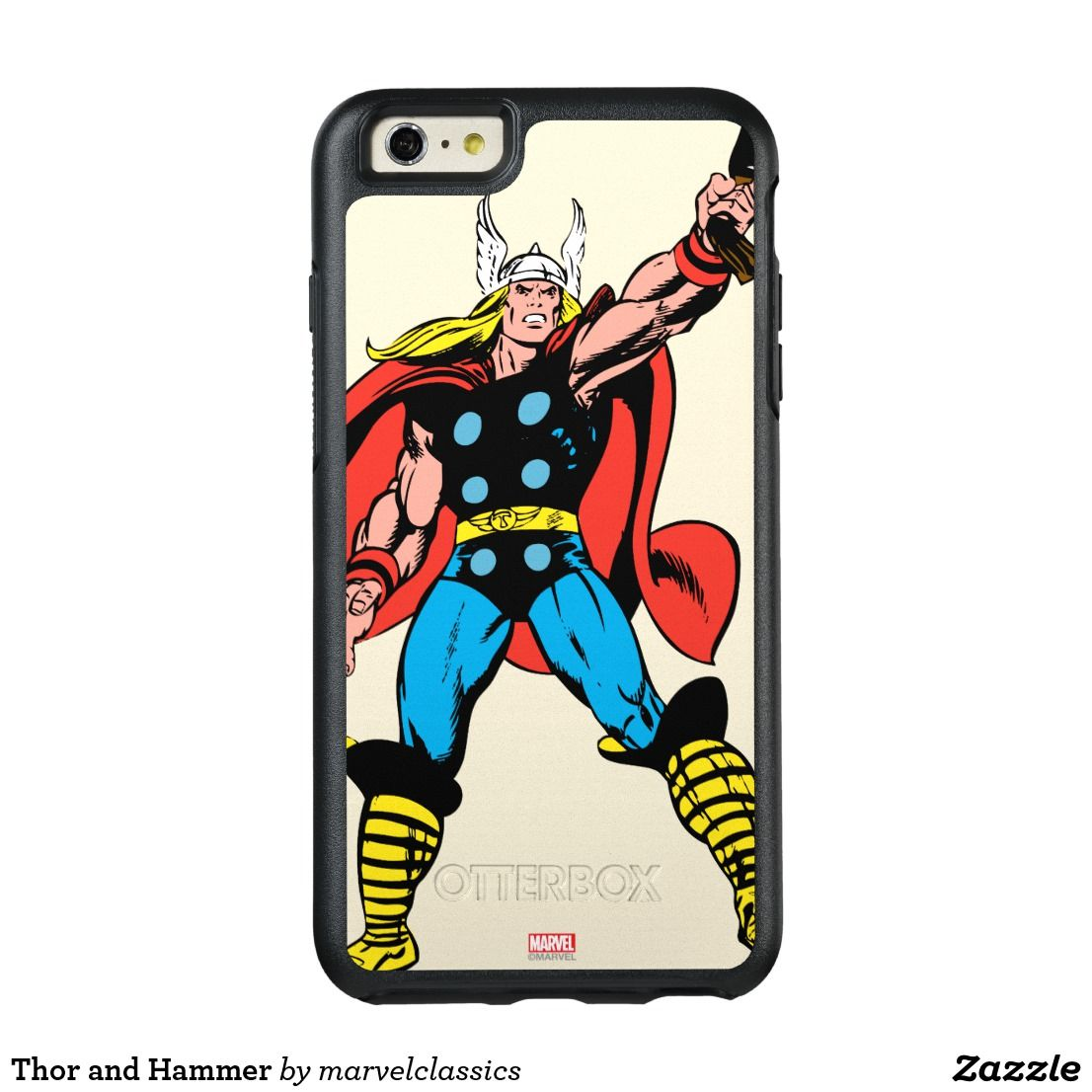 thor and hammer otterbox iphone 6 6s plus case thor and marvel