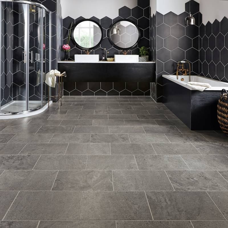 Natural Stone Effect Vinyl Flooring Realistic Stone Floors Floor Tiles Bathroom Vinyl Vinyl Flooring Bathroom Stone Flooring