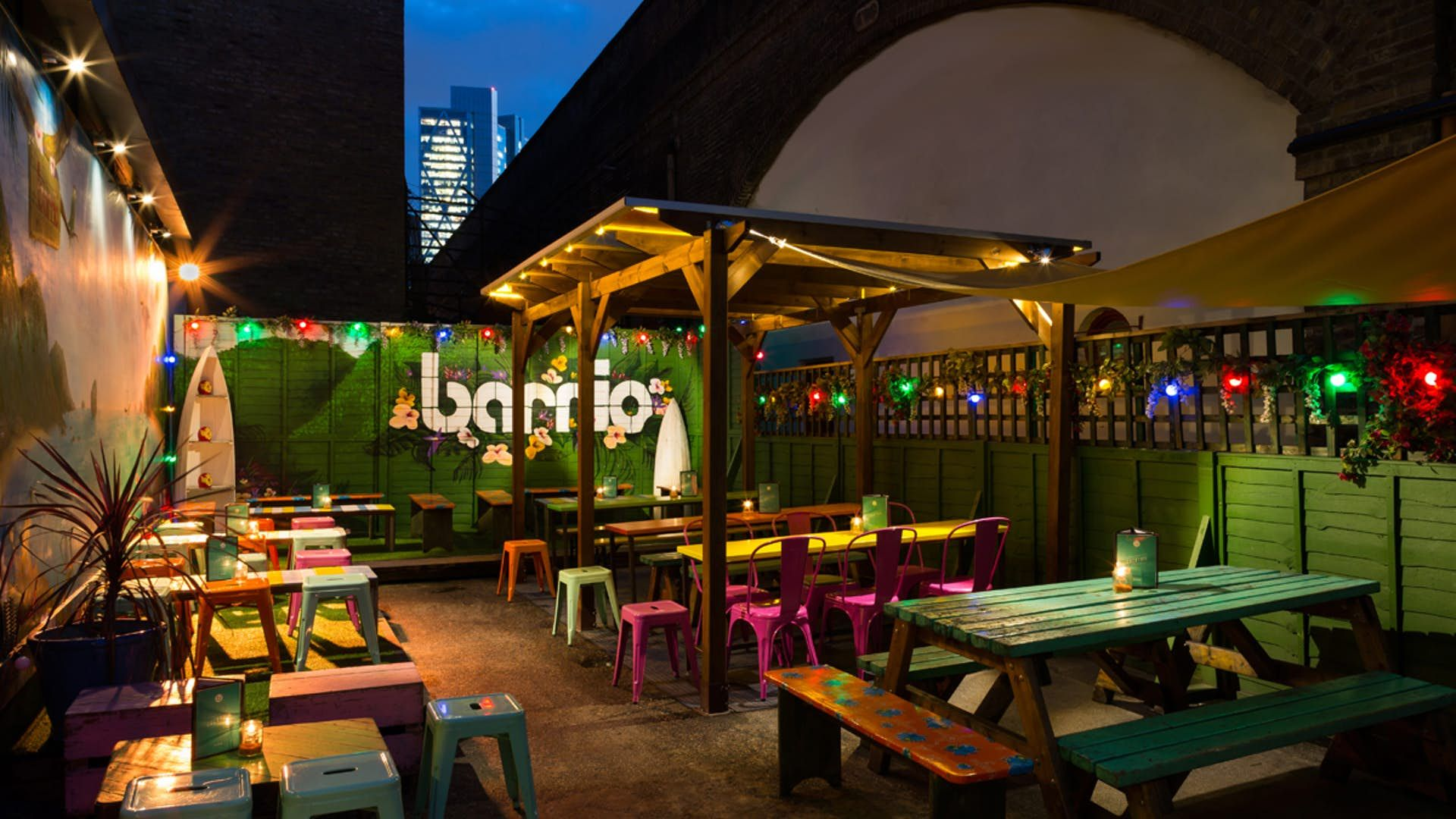 La Terraza At Barrio East Is A Perfect Little Place For A