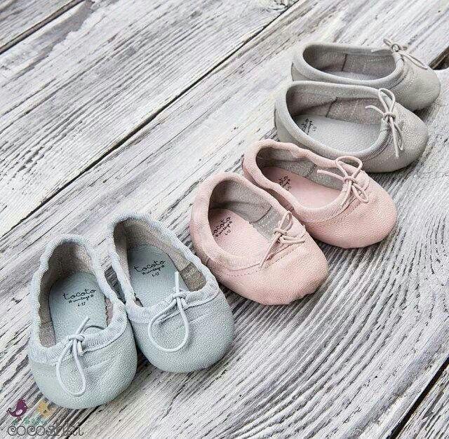 Tocoto vintage. Little ballet shoes.