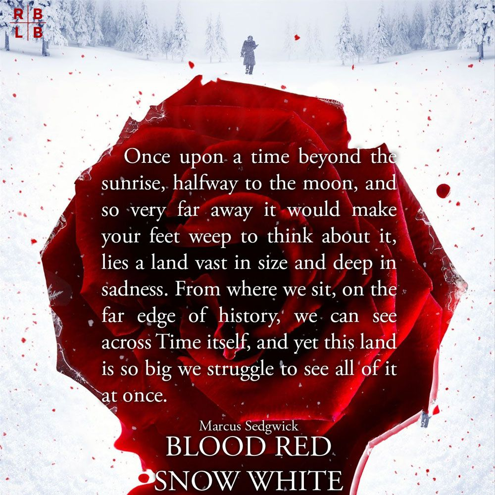 Teaser Blood Red Snow White By Marcus Sedgwick My Library In 2019