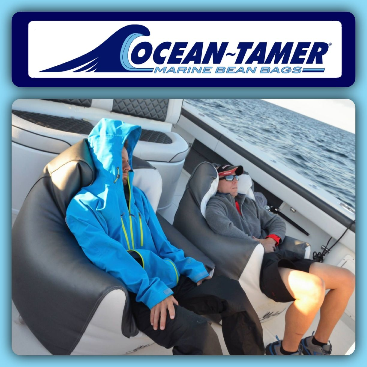 The Crew From Under Armour Fishing Team Riding In Comfort And Style Aboard Their Mercury