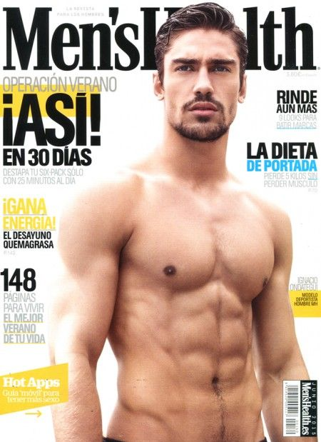 c673889cbd Ignacio Ondategui Snags Another Men s Health Spain Cover