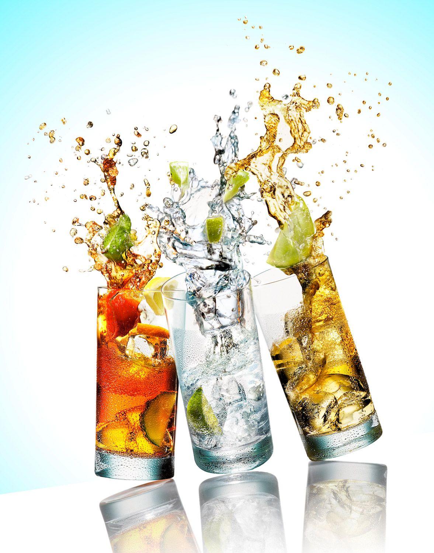 Fruit splash 2 - Still Life Product Photographer Pedersen Drink Beverage Cocktail Alcohol Splash Spill Action Liquid Lime Fruit