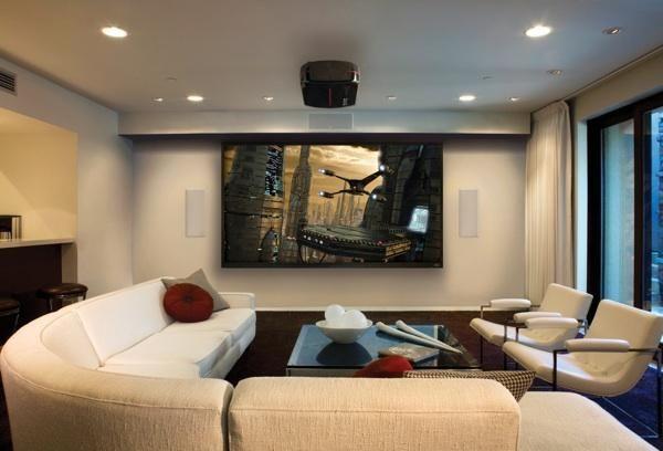 Quero Montar Um Cinema Em Casa E Agora Tao Legal Living Room Theaters Living Room Home Theater Home Theater Rooms