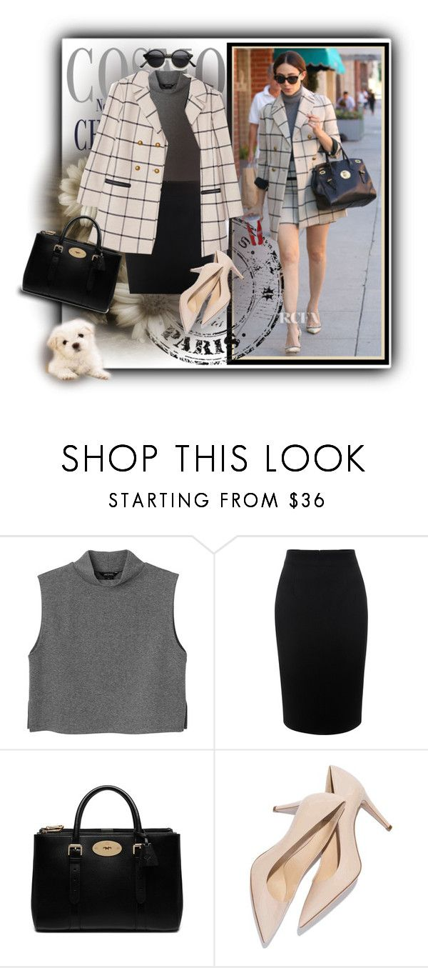 """""""Plaid"""" by noralyn ❤ liked on Polyvore featuring mode, Tory Burch, Monki, Alexander McQueen et Mulberry"""