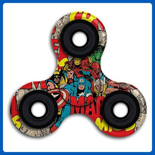 SXSY Super Heroes Fidget Spinner Toy Time Killer Perfect To Relieve ADHD Anxiety Reduce Stress Helps Focus - Fidget spinner (*Amazon Partner-Link)