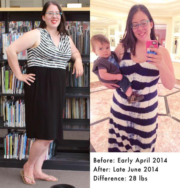 one week weight loss progress