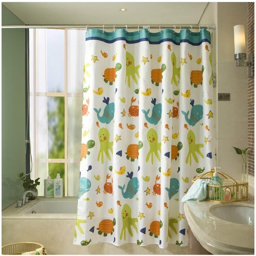 Badezimmer dekor mit duschvorhängen  duschvorhänge ihr kind wird lieben  bad  pinterest  vorhänge