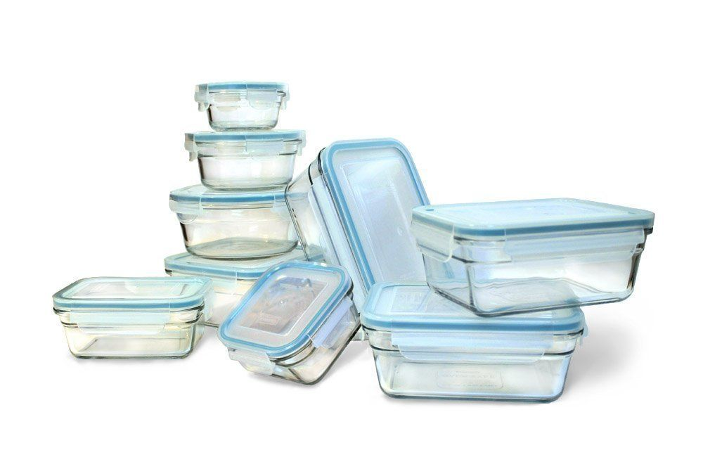 Glasslock Food Storage Container Sets Amazon New Snaplock Lid Tempered Glasslock Storage Containers