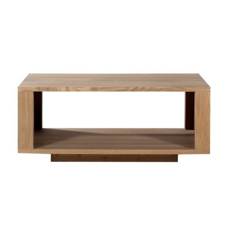 Vente Table Basse Chene Massif Shadow Ethnicraft Coffee Table Square Coffee Table Wooden Coffee Table