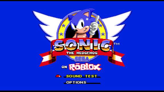 [ALPHA] Sonic The Hedgehog On ROBLOX - ROBLOX