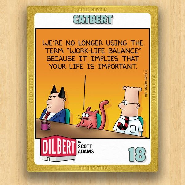 Dilbert Collections Catbert 2 18 Work Humor Work Quotes Funny Job Humor