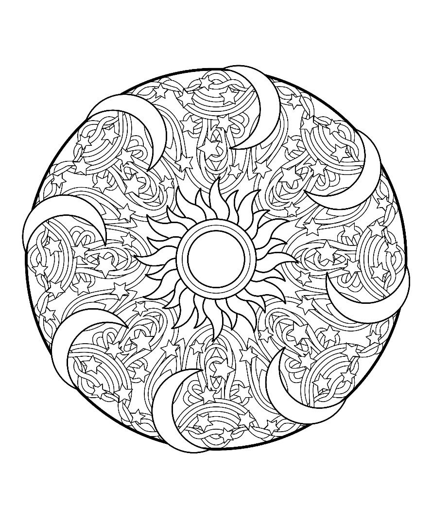 Mandalas Volume 2 Mandala Coloring Animal Coloring Pages Mandala Coloring Pages