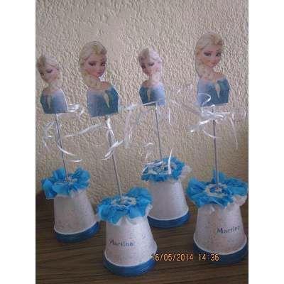 Centros De Mesa Frozen - $ 65,00