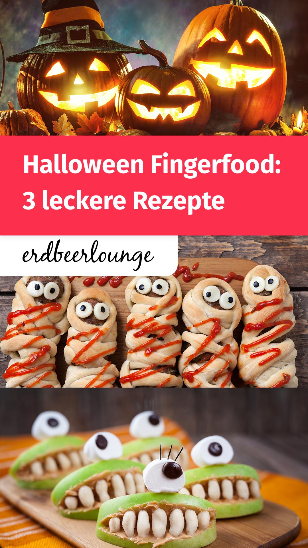 HalloweenFingerfood 6 einfache & tolle Rezepte