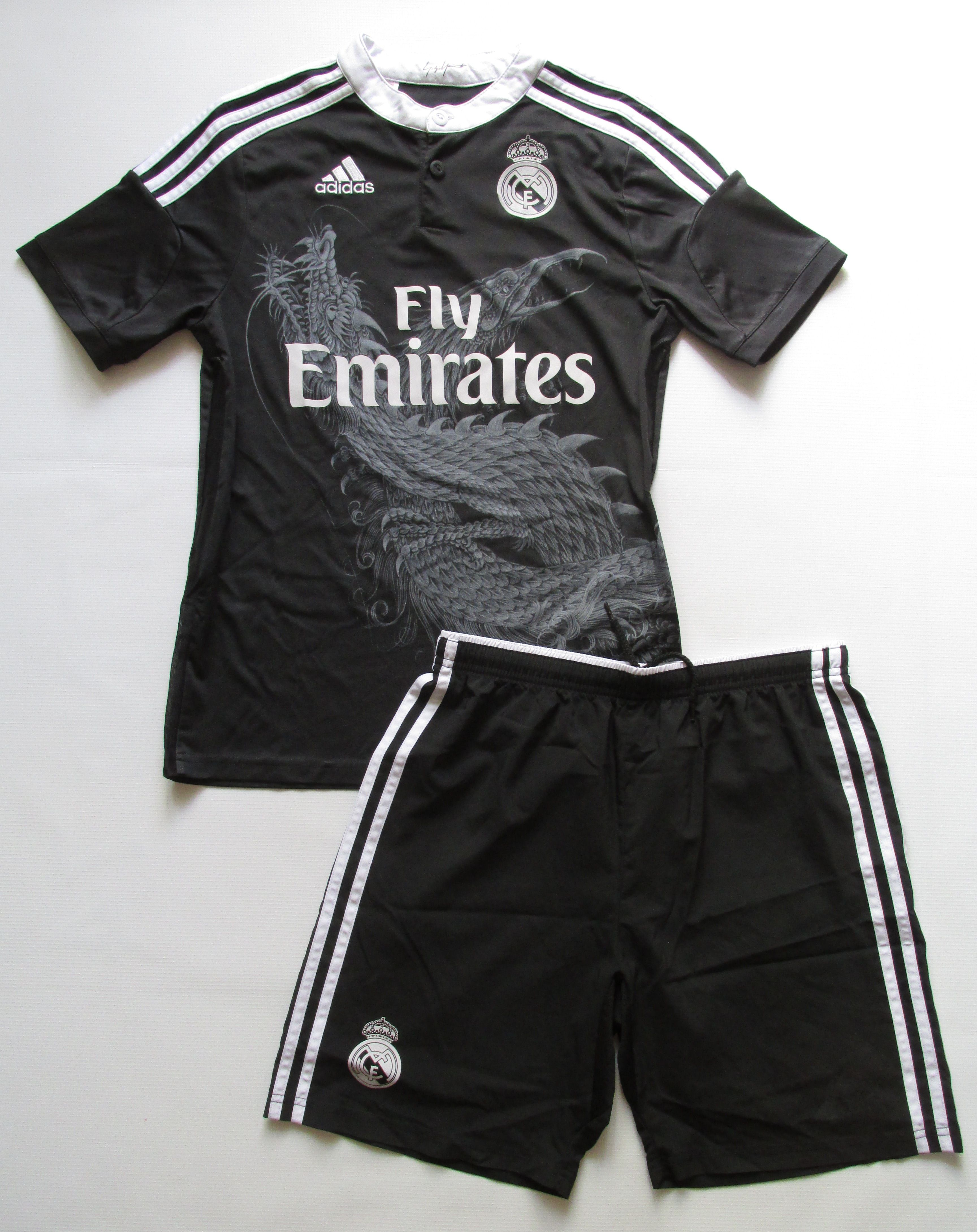 155f472dba Real Madrid 2014 2015 third football kit by Adidas   Yohji Yamamoto Spain  footballshirt jersey