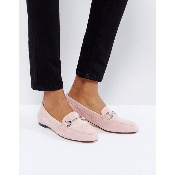 Office Blush Suede Loafers ($79