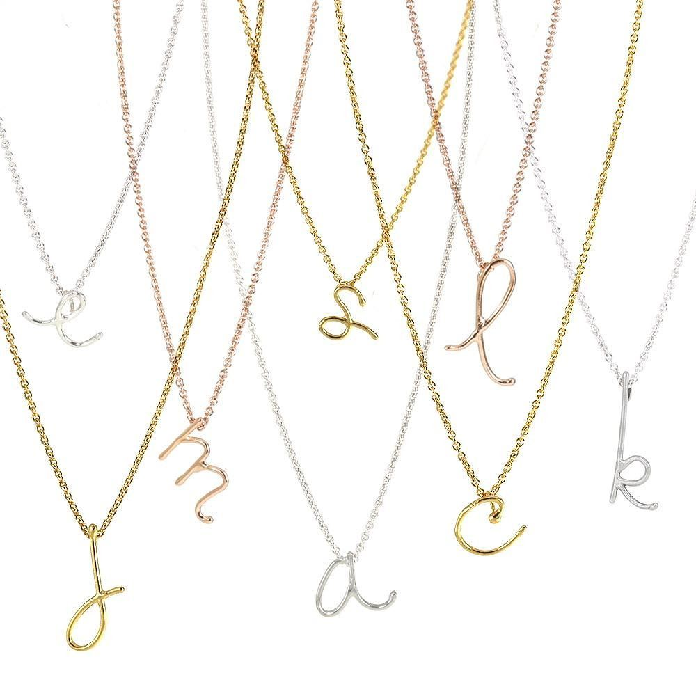 chain necklace aetherair co letter asli initial chains