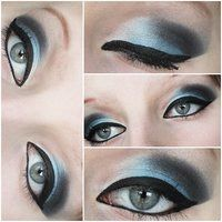 so blue makeup by ViivaVanity