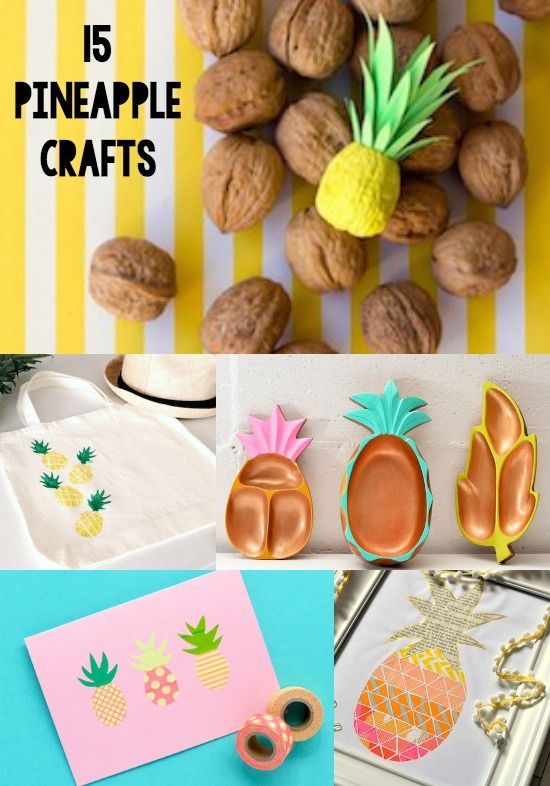 15 Pineapple Crafts You Ll Have To Make Pineapple Crafts Diy
