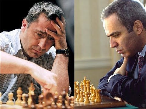 Ivanchuk gana a Kasparov de manera espectacular - YouTube