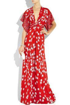 Kimono style evening dresses
