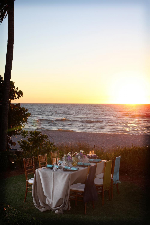waterfront lawn at LaPlaya Beach & Golf Resort in