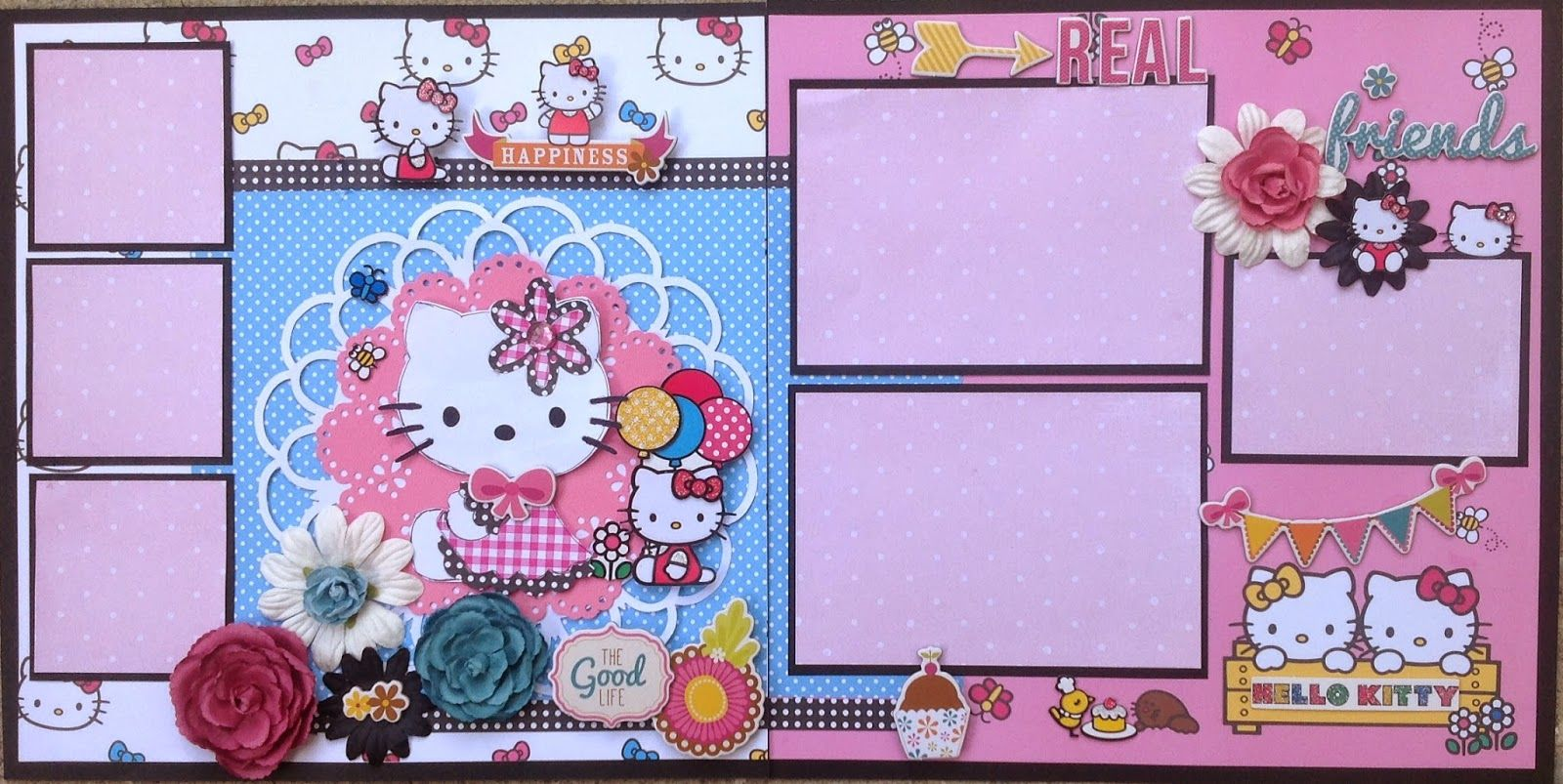 Scrapbook ideas hello kitty - Amazing grace hello kitty