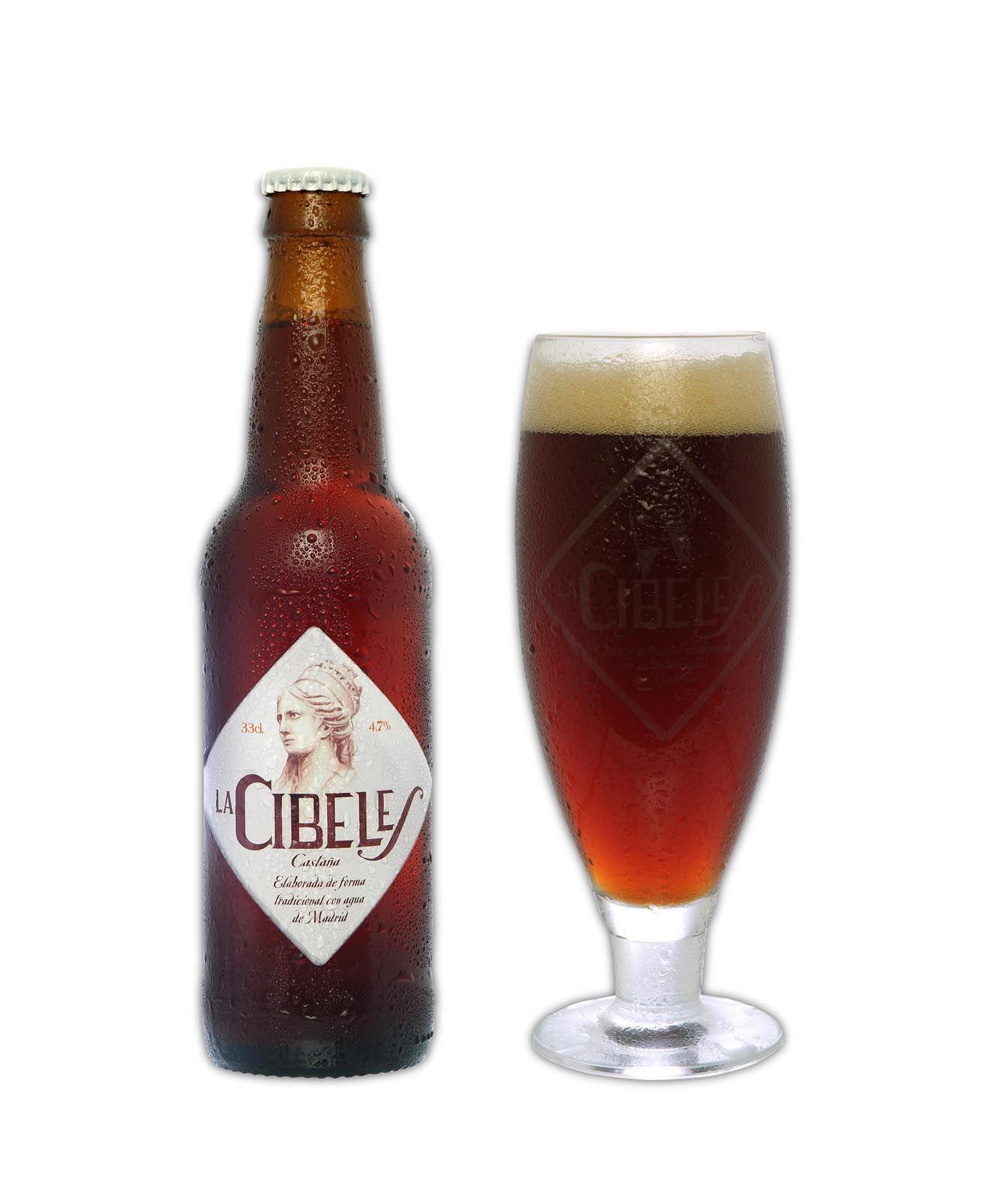 La Cibeles Castana Cerveza Cerveza Artesanal Cervezas Espanolas
