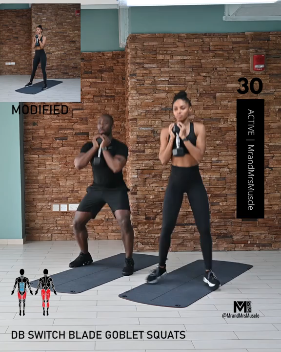 Fat Burning Cardio Workout - HIIT with Modificatio