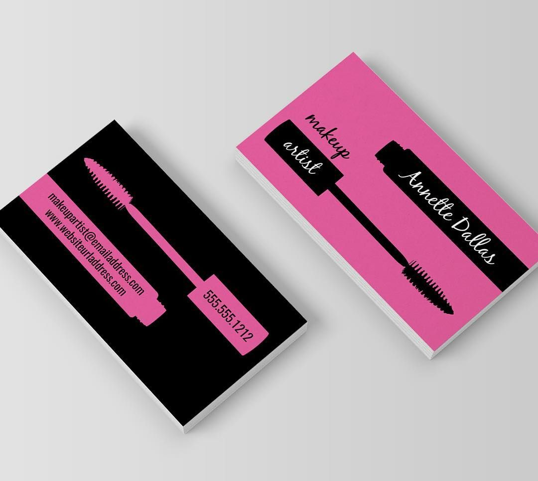 Makeup / Beauty / Fashion Blogger Business card design & printing ...