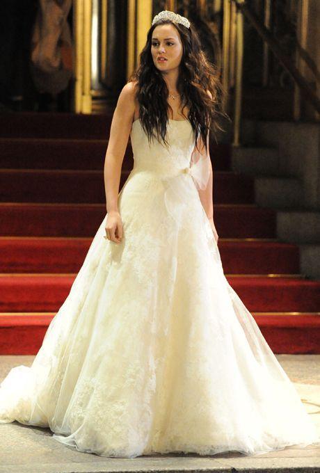 Celebrity Royal Weddings Gossip Girl Brautkleid Hochzeit Kleidung