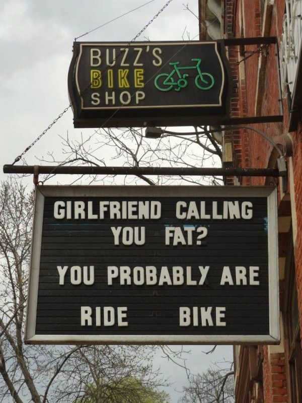 Funny Signs   Ads and Funny Posters/Signs   Pinterest   Fietsen