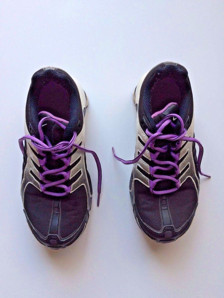 f62b49a968adc5 Nike Shox Women s Shoes 365918-051 - Black Purple White Navina - Size 6.5   Nike  Shox