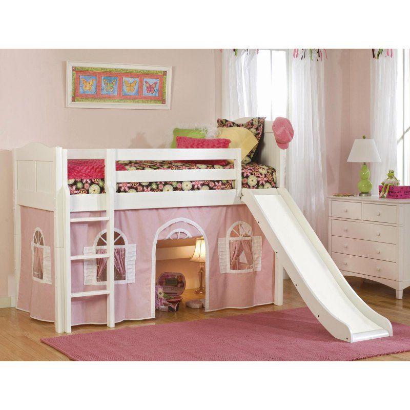 Cottage Standard Low Loft Tent Bed Ver148 Low Loft Beds Twin