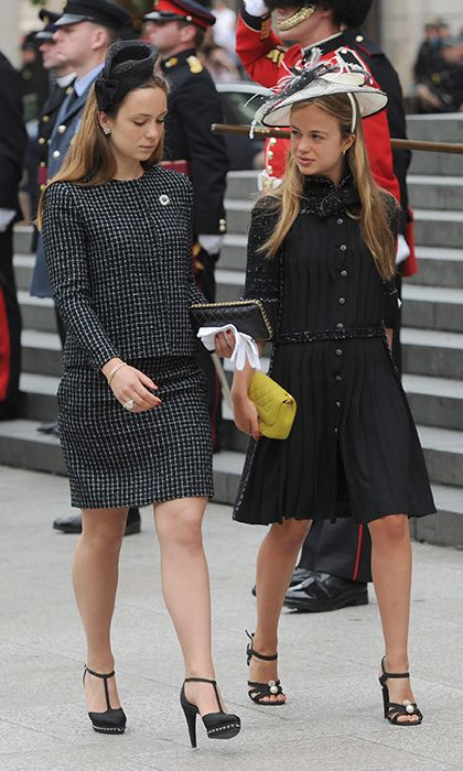 Lady Amelia Windsor Wears Head To Toe Chanel At The Queen S Service Of Thanksgiving