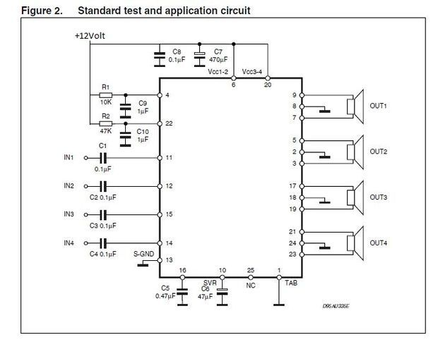 hi fi 4 channel audio amplifier very simple and cheap rh pinterest com