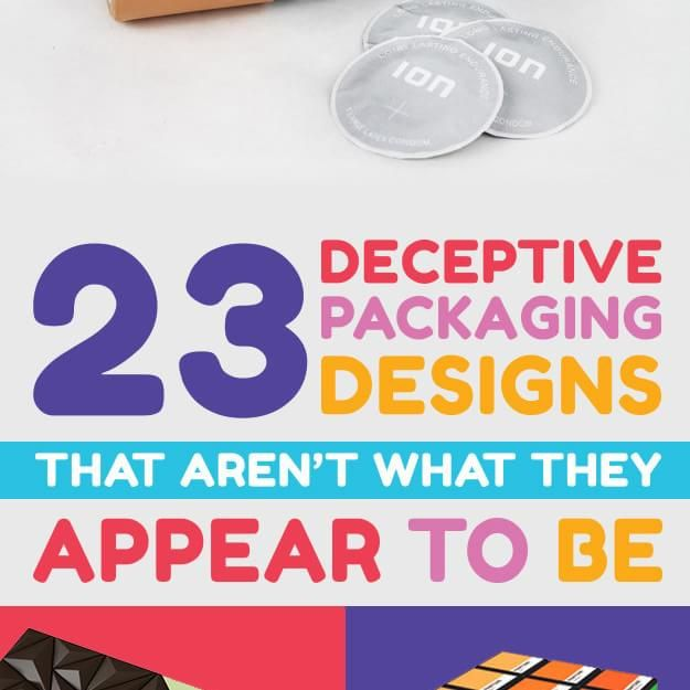 23 Deceptive Packaging Ideas That Aren't What They Appear To Be